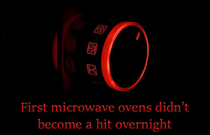 First-microwave-ovens-didnt-hit-overnight