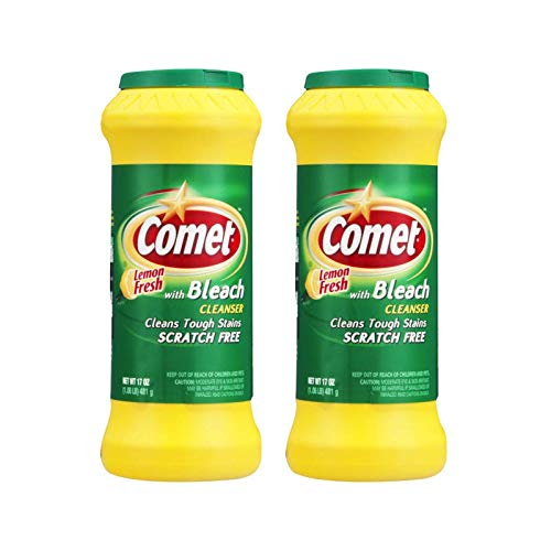 Comet Cleaner with Bleach Cleanser Lemon Fresh