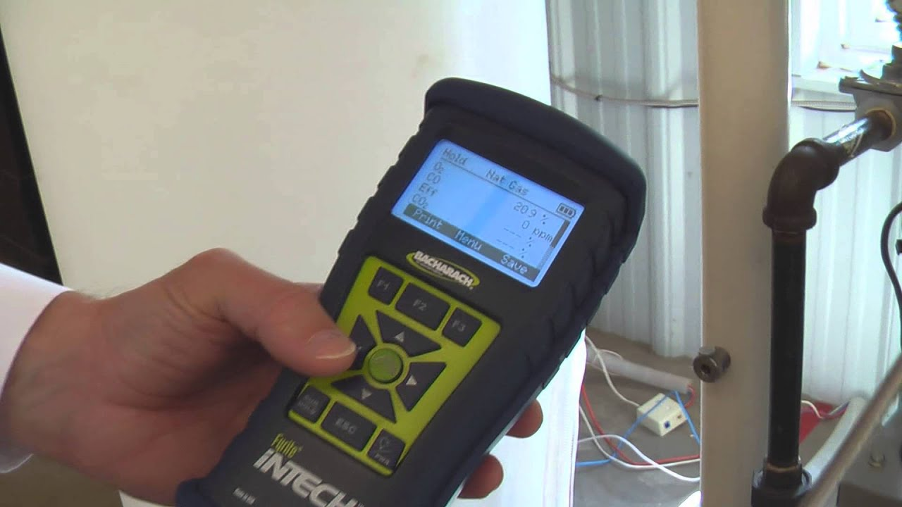 How Does a Combustion Analyzer Work