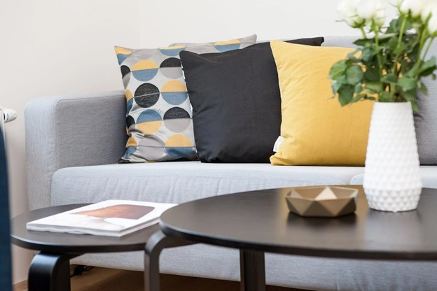 Styling a Living Room with Form and Function in Mind